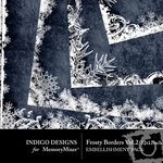 Frosty Border Pack Volume 2-$1.99 (Indigo Designs)