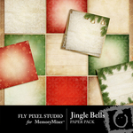 Jingle Bells Paper Pack-$3.99 (Fly Pixel Studio)