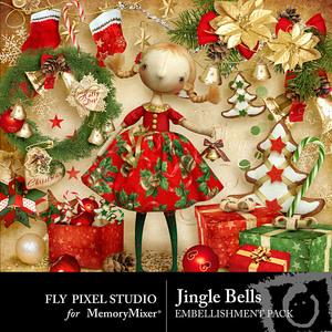 Jingle bells emb medium