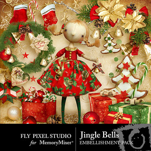 Jingle bells emb medium