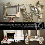 Cozy Whispers Cluster Pack-$1.99 (MagicalReality Designs)
