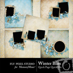 Winter Bliss Quick Page QuickMix-$3.49 (Fly Pixel Studio)