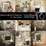 Cozy Whispers Quick Page QuickMix-$4.49 (MagicalReality Designs)