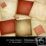 Christmas Cooking Paper Pack Vol 2-$2.99 (Fly Pixel Studio)