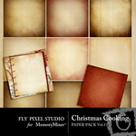 Christmas Cooking Paper Pack Vol 1-$3.99 (Fly Pixel Studio)