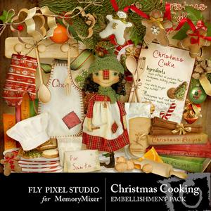 Christmas cooking emb medium