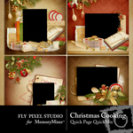 Christmas Cooking Quick Page QuickMix-$1.75 (Fly Pixel Studio)