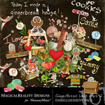 GingerBread Add On Embellishment Pack-$2.49 (MagicalReality Designs)