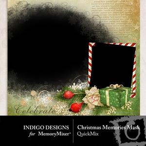 Christmas memories mask qm medium