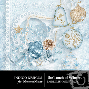 The touch of winter emb medium