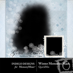 Winter Memories Mask QuickMix-$3.99 (Indigo Designs)