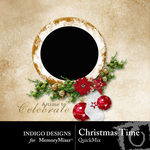 Christmas Time QuickMix-$3.49 (Indigo Designs)