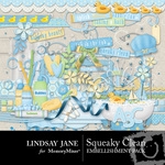 Squeaky Clean Embellishment Pack-$3.99 (Lindsay Jane)