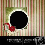 Christmas Time QuickMix Vol 2-$3.49 (Indigo Designs)