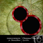 Christmas Time QuickMix Vol 3-$3.49 (Indigo Designs)