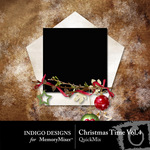 Christmas Time QuickMix Vol 4-$3.49 (Indigo Designs)