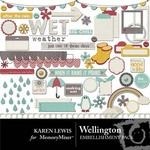 Wellington Embellishment Pack-$2.99 (Karen Lewis)