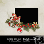 Joyful Season QuickMix Vol 1-$3.49 (Indigo Designs)