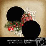 Joyful Season QuickMix Vol 2-$3.49 (Indigo Designs)