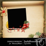 Joyful Season QuickMix Vol 3-$3.49 (Indigo Designs)
