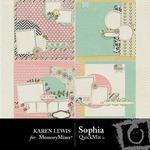 Sophia QuickMix-$3.49 (Karen Lewis)