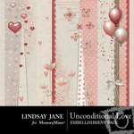 Unconditional Love Borders-$1.99 (Lindsay Jane)