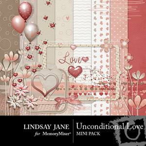 Unconditional love mini pack medium