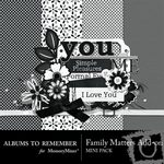 Family Matter Add On Mini Pack-$3.49 (Albums to Remember)