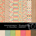 Festival fun Paper Pack-$2.00 (Designs by Krista)