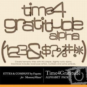 Time 4 gratitude alpha medium