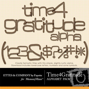 Time 4 gratitude alpha medium
