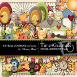 Time 4 Gratitude Embellishment Pack-$3.49 (Ettes and Company by Fayette)