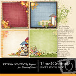 Time 4 Gratitude ShortStack Paper Pack-$2.49 (Ettes and Company by Fayette)