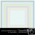 Time 4 Traditions Stitches Pack-$1.99 (Ettes and Company by Fayette)