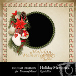 Holiday Memories QuickMix-$3.49 (Indigo Designs)
