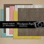 Wood Grain Paper Pack-$2.49 (Krista Sahlin)
