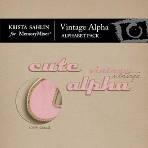 Vintage alpha medium
