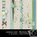 Birthday boy borders small