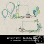 Birthday Boy Frame Pack-$1.99 (Lindsay Jane)