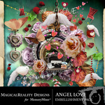 Angel Love Embellishment Pack-$3.49 (MagicalReality Designs)