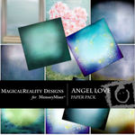 Angel Love Paper Pack-$3.99 (MagicalReality Designs)