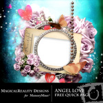 Angel Love Free Quick Page-$0.00 (MagicalReality Designs)