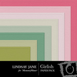 Girlish Embossed Paper Pack-$2.49 (Lindsay Jane)