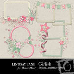 Girlish Frame Pack-$1.99 (Lindsay Jane)