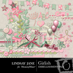 Girlish Embellishment Pack-$3.99 (Lindsay Jane)