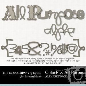Colorfix all purpose alpha medium