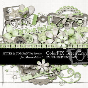 Colorfix green envy emb medium