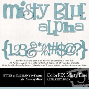 Colorfix misty blue alpha medium