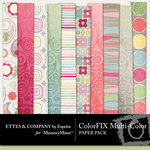 ColorFIX Multi Paper Pack-$2.99 (Ettes and Company by Fayette)