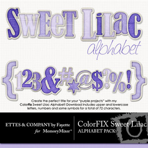 Colorfix sweet lilac alpha medium